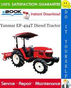 Yanmar EF-494T Diesel Tractor Service Repair Manual