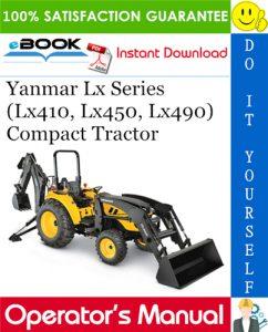 Yanmar Lx Series (Lx410, Lx450, Lx490) Compact Tractor Operator's Manual