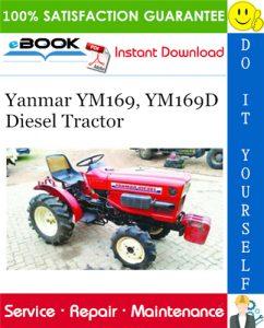 Yanmar YM169, YM169D Diesel Tractor Service Repair Manual