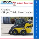 Hyundai HSL960T Skid Steer Loader Operator's Manual