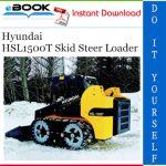 Hyundai HSL1500T Skid Steer Loader Operator's Manual