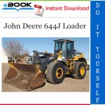 John Deere 644J Loader Operation and Tests Technical Manual