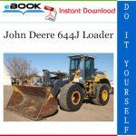 John Deere 644J Loader Repair Technical Manual