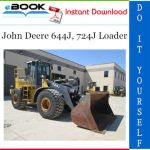 John Deere 644J, 724J Loader Operation and Tests Technical Manual