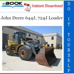 John Deere 644J, 724J Loader Repair Technical Manual