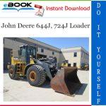 John Deere 644J, 724J Loader Repair Technical Manual