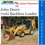 John Deere 710G Backhoe Loader Parts Catalog Manual