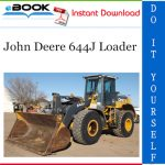 John Deere 644J Loader Repair, Operation and Tests Technical Manual