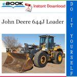 John Deere 644J Loader Repair, Operation and Tests Technical Manual