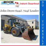 John Deere 644J, 724J Loader Repair, Operation and Tests Technical Manual