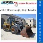 John Deere 644J, 724J Loader Repair, Operation and Tests Technical Manual
