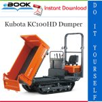 Kubota KC100HD Dumper Service Repair Manual