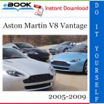 Aston Martin V8 Vantage Service Repair Manual 2005-2009 Download