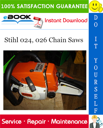 Stihl 024  026 Chain Saws Service Repair Manual  U2013 Pdf Download