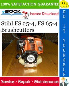 Stihl FS 25-4, FS 65-4 Brushcutters Service Repair Manual