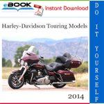 2014 Harley-Davidson Touring Models Motorcycle Service Repair Manual