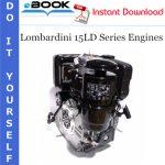 Lombardini 15LD Series Engines Service Repair Manual
