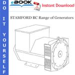 STAMFORD BC Range of Generators Installation, Service & Maintenance Manual