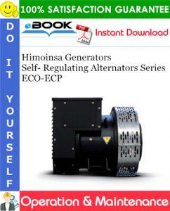 Himoinsa Generators Self- Regulating Alternators Series ECO-ECP