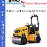 JCB CT160, CT260 Tandem Roller Operator's Manual