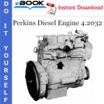 Perkins Diesel Engine 4.2032 Service Repair Manual