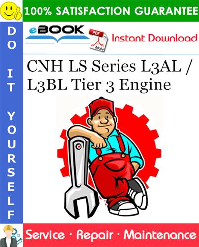 Cnh Ls Series L3al    L3bl Tier 3 Engine Service Repair