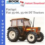 FiatAgri Fiat 35-66, 35-66 DT Tractors Operator's Manual