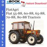 FiatAgri Fiat 55-88, 60-88, 65-88, 70-88, 80-88 Tractors Operator's Manual