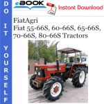 FiatAgri Fiat 55-66S, 60-66S, 65-66S, 70-66S, 80-66S Tractors Operator's Manual