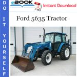 Ford 5635 Tractor Parts Catalog Manual