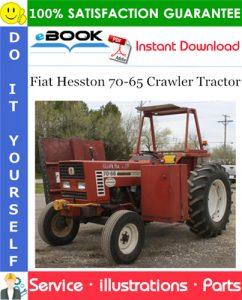 Fiat Hesston 70-65 Crawler Tractor Parts Catalog