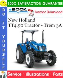 New Holland TT4.90 Tractor - Trem 3A Parts Catalog