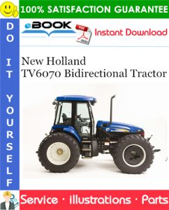 New Holland TV6070 Bidirectional Tractor Parts Catalog