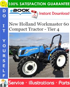 New Holland Workmaster 60 Compact Tractor - Tier 4 Parts Catalog