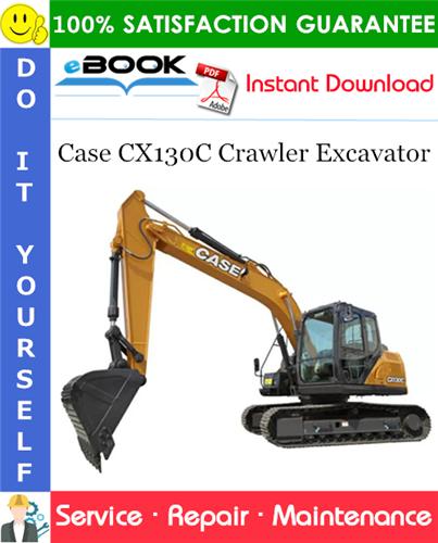 Case CX130C Crawler Excavator Service Repair Manual (Turkish market)