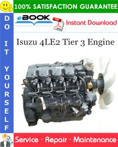 Isuzu 4LE2 Tier 3 Engine Service Repair Manual