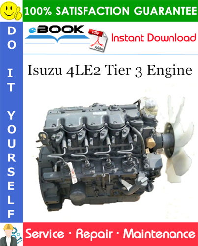 Isuzu 4LE2 Tier 3 Engine Service Repair Manual