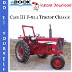 Case IH F-544 Tractor Chassis Service Repair Manual