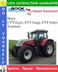 Steyr CVT 6130, CVT 6145, CVT 6160 Tractors Service Repair Manual