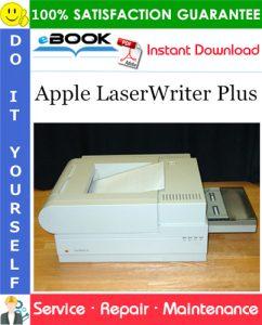 Apple LaserWriter Plus Service Repair Manual