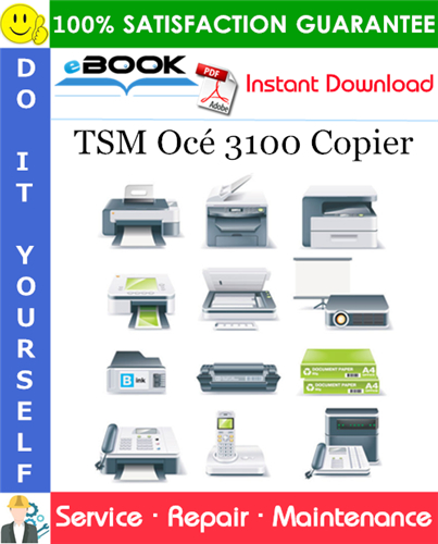 TSM Océ 3100 Copier Service Repair Manual