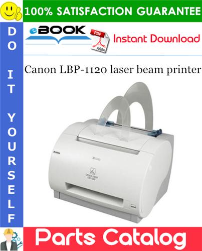 Canon LBP-1120 laser beam printer Parts Catalog Manual