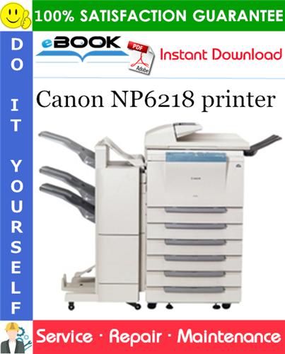 Canon NP6218 printer Service Repair Manual