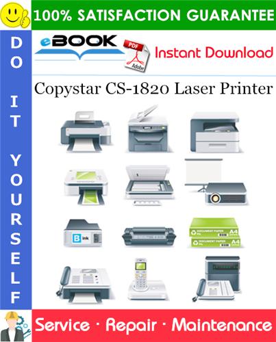 Copystar CS-1820 Laser Printer Service Repair Manual