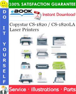 Copystar CS-1820 / CS-1820LA Laser Printers Parts Manual