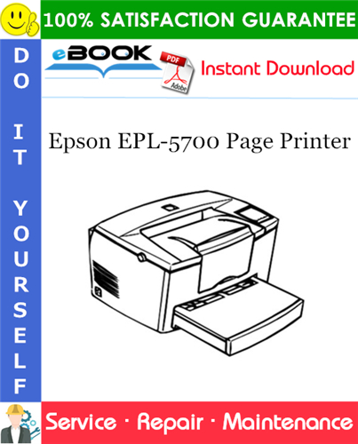 Epson EPL-5700 Page Printer Service Repair Manual