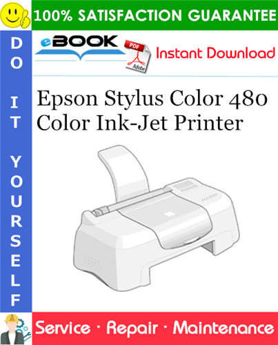 Epson Stylus Color 480 Color Ink-Jet Printer Service Repair Manual