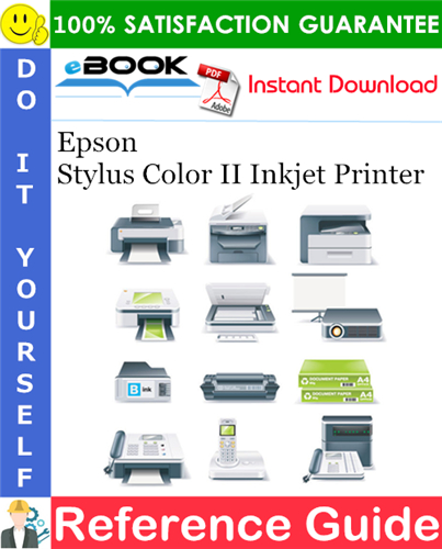 Epson Stylus Color II Inkjet Printer Reference Guide