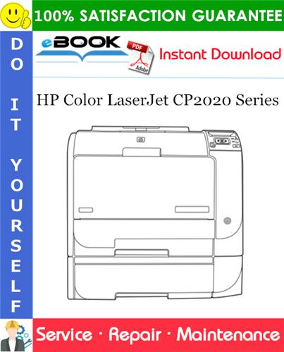 HP Color LaserJet CP2020 Series Service Repair Manual