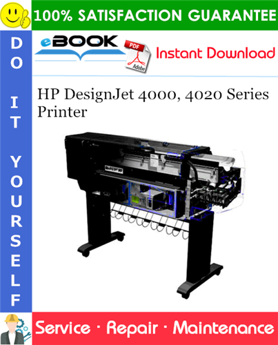 HP DesignJet 4000, 4020 Series Printer Service Repair Manual